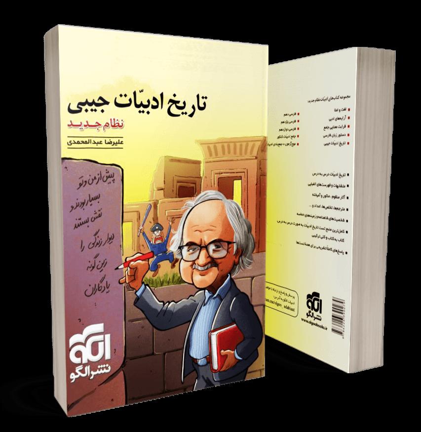 کتاب تاریخ ادبیات جیبی نشر الگو
